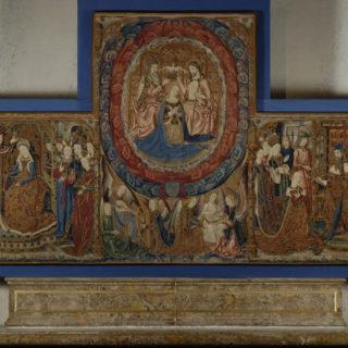 Tapisserie des Trois couronnements du Trésor de la Cathédrale de Sens