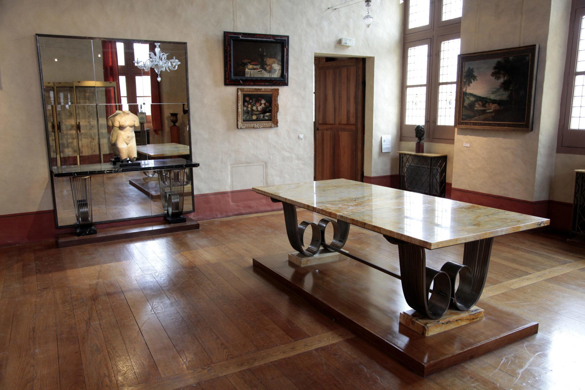 Salle de la collection Marrey, Musées de Sens - cl. E. Berry