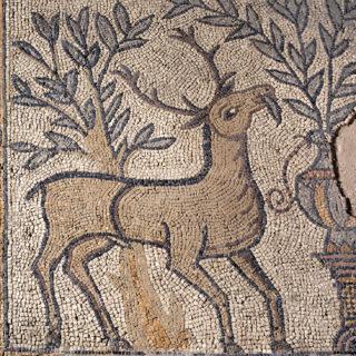 Mosaïque des cerfs, coll. Musées de Sens
