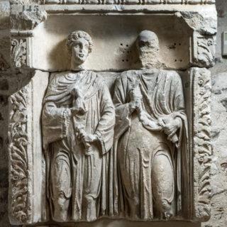 Stèle des époux âgées, Musées de Sens