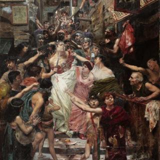 G.-A. Rochegrosse - Vitellius traîné dans les rues de Rome