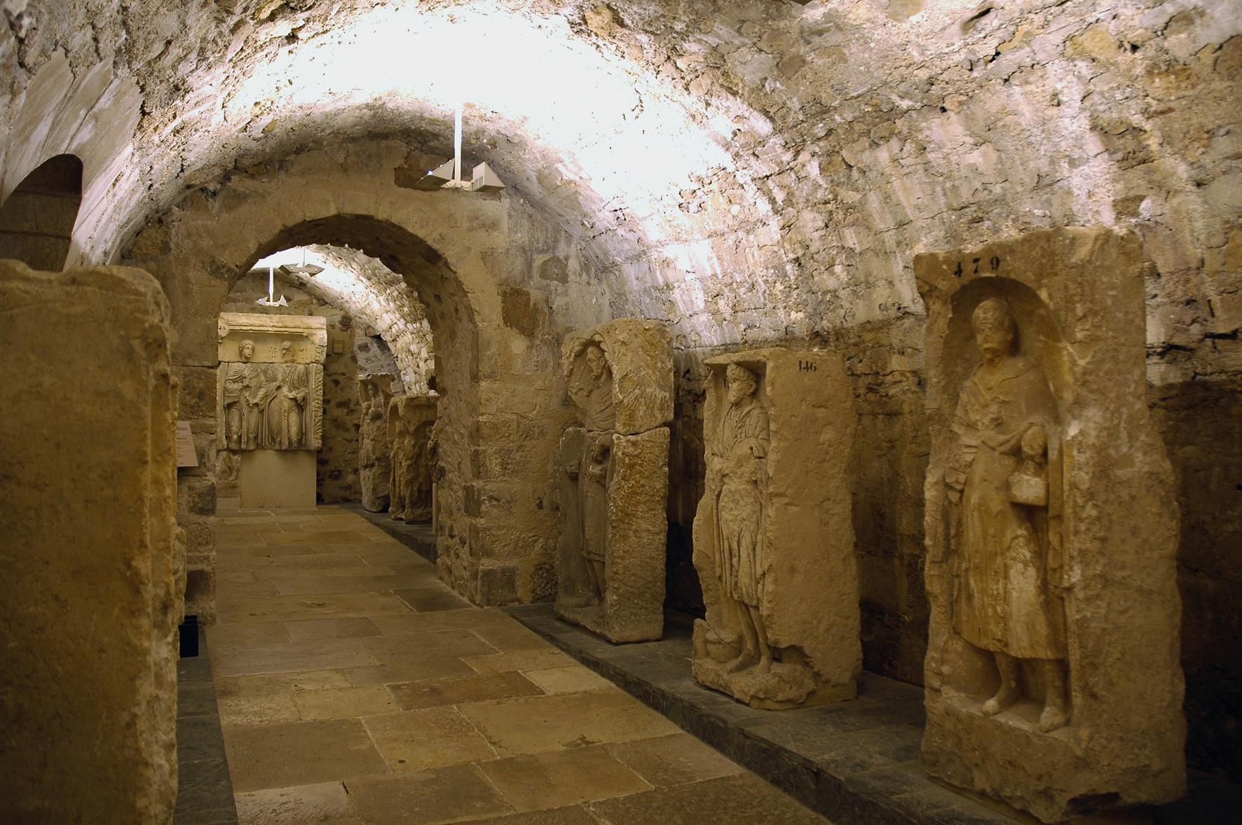 Sous-sol gallo-romain des Musées de Sens - Cl. E. Berry