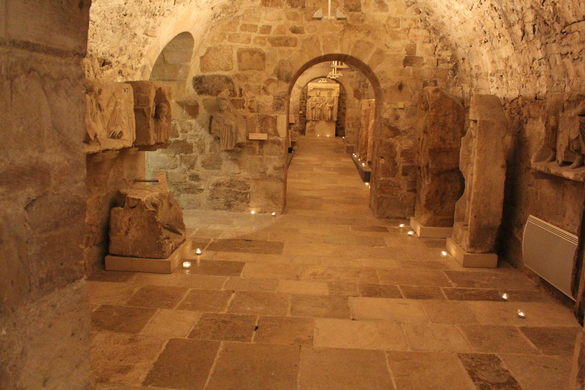 Sous-sol gallo-romain - cl. H. Letourneur