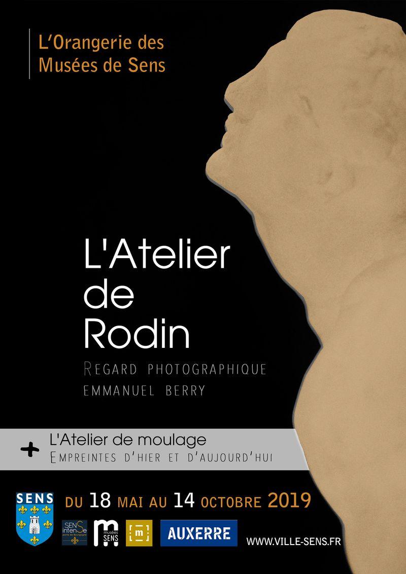 Affiche Rodin - Musées de Sens