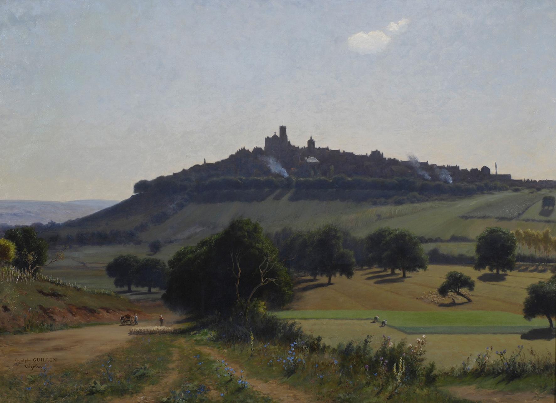 La Ville de Vézelay - Guillon. Cl. Musées de Sens - E. Berry