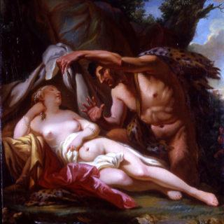 Jupiter et Antiope, Jacques-Louis David, cl. Musées de Sens - J.-P. Elie