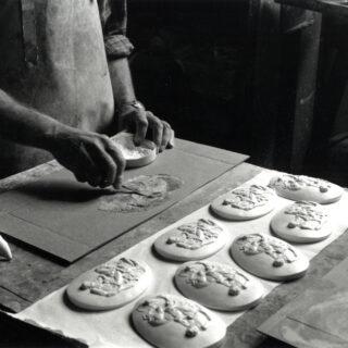 Atelier de moulage, cl. J. Delaune